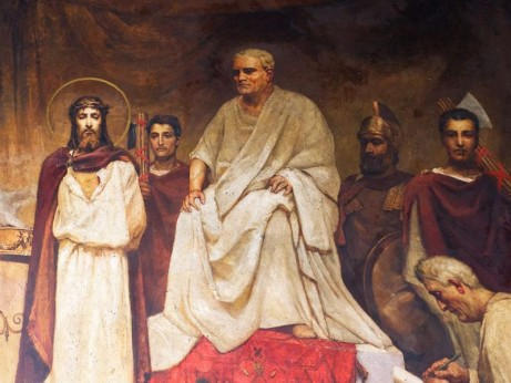 Съда на Пилат. В.Котарбинский, П.Сведомский - biblia-zhivopis.ru